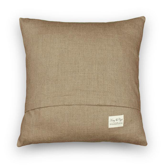 natural pillow back
