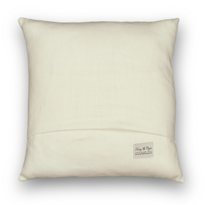 oyster pillow back