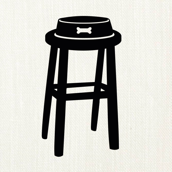 stool on oyster